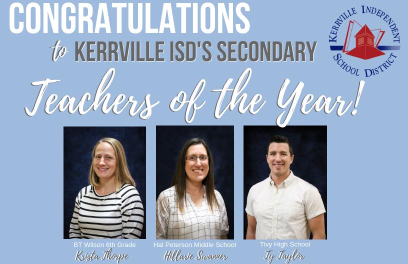 Kerrville Independent School District Homepage