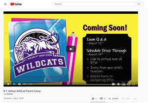 BTW Parent Orientation Video