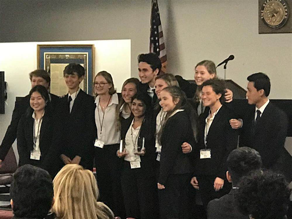 State Qualifier Mock Trial Team 2018-2019