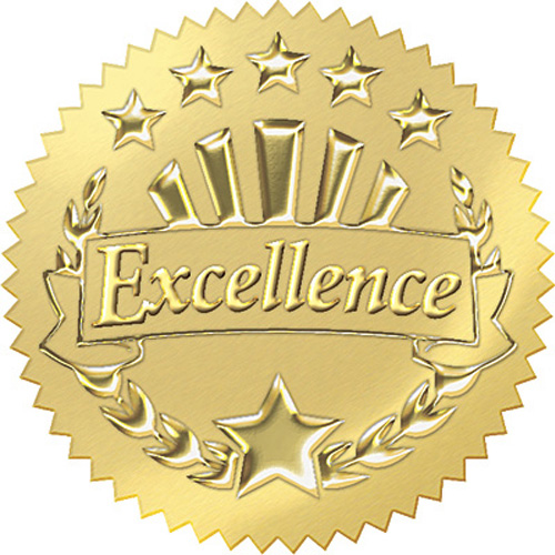 Excellence in Education Award Seal