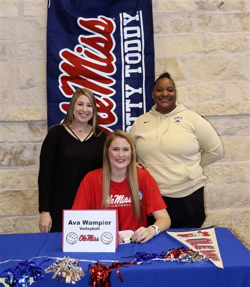 Ava Wampler signing to play for Ole Miss