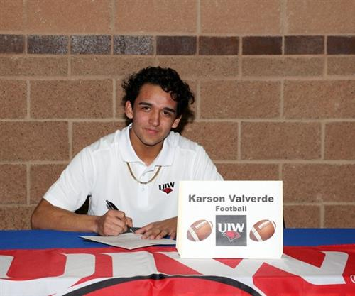 valverde signing with uiw