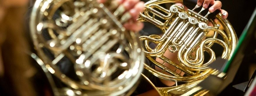 image of french horns