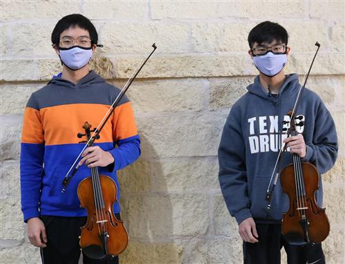 Tivy Brothers Earn All-State Orchestra Honors