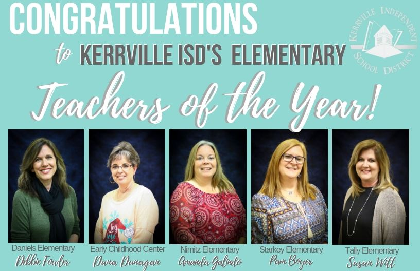 Elementary Teachers of the Year