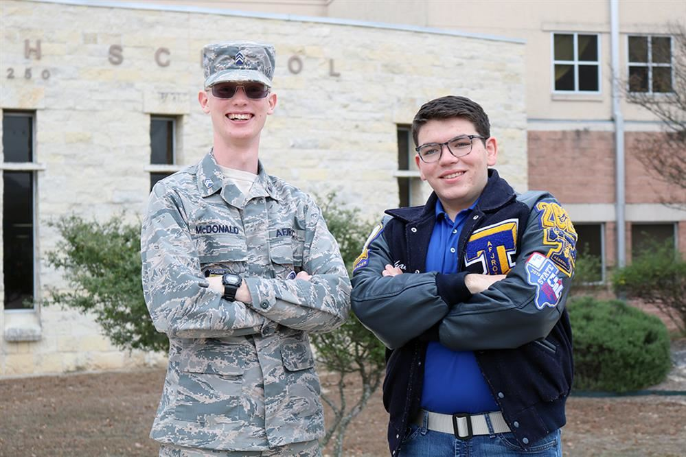 Tivy Cadets receive Air Force Junior ROTC Flight Academy scholarships
