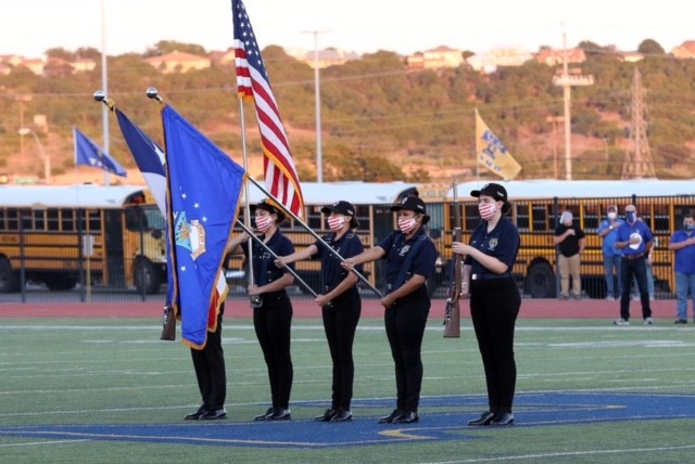 Tivy JROTC Color Guard