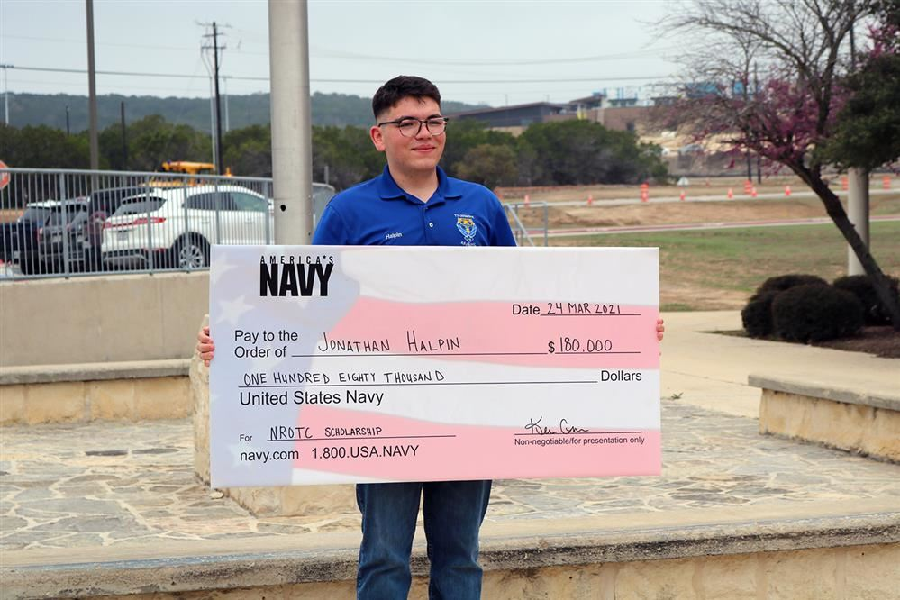 Tivy Senior earns US Navy Scholarship