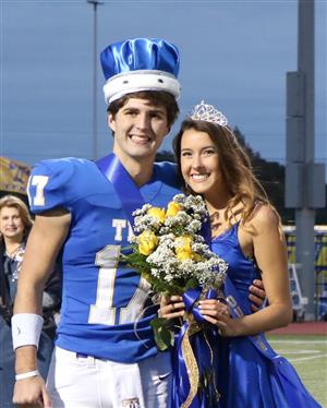 Tivy Homecoming Royalty Crowned