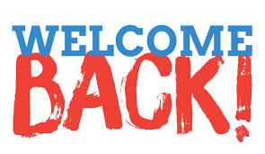 Welcome Back Graphic