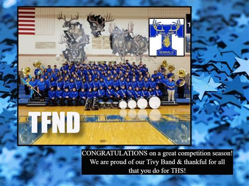 congrats to band