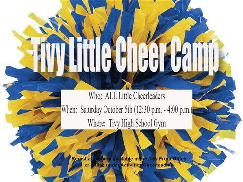 Cheer Camp Information