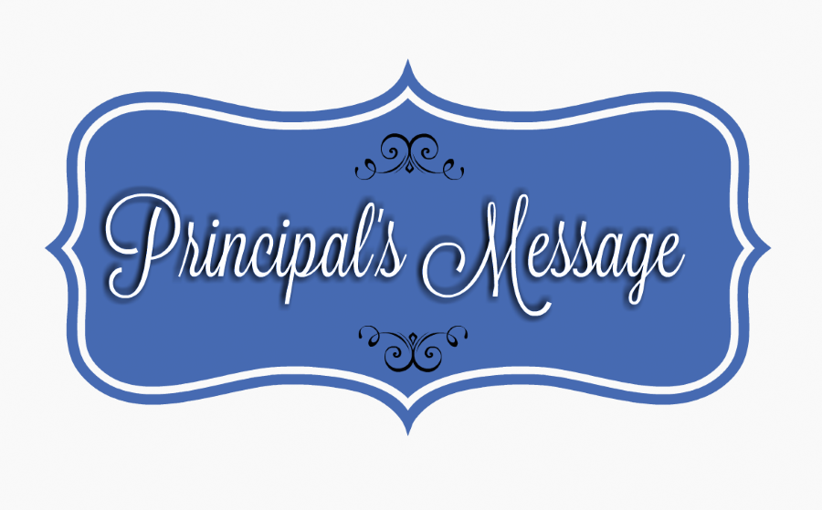 Principal Message Marking Period 2
