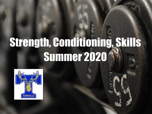 strength and conditioning summer 2020