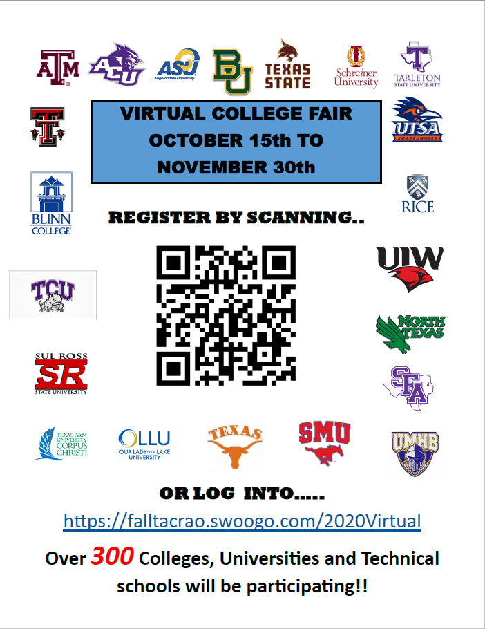 Virtual College Fair 2020