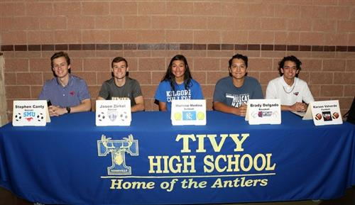 athletes signing letters of intent